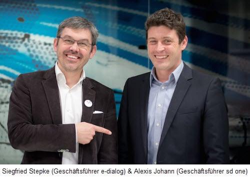 Siegfried Stepke und Alexis Johann.